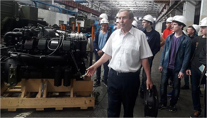 Брянский автозавод организовал экскурсию для первокурсников БГИТУ