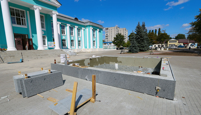 В Володарском районе Брянска скоро заработает новый фонтан