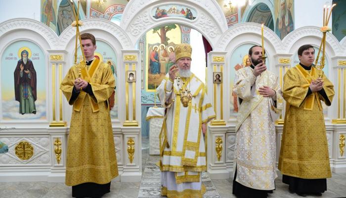 В Дятьково освящен новый храм во имя Сергия Радонежского