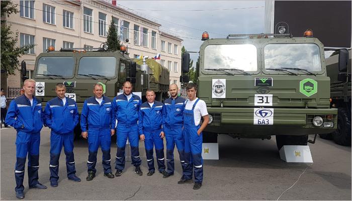 Два экипажа Брянского автозавода без поломок прошли дистанцию «Военного ралли–2019»