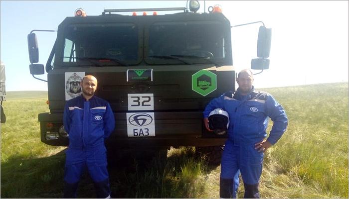 Экипажи БАЗа стартовали на Армейских международных играх