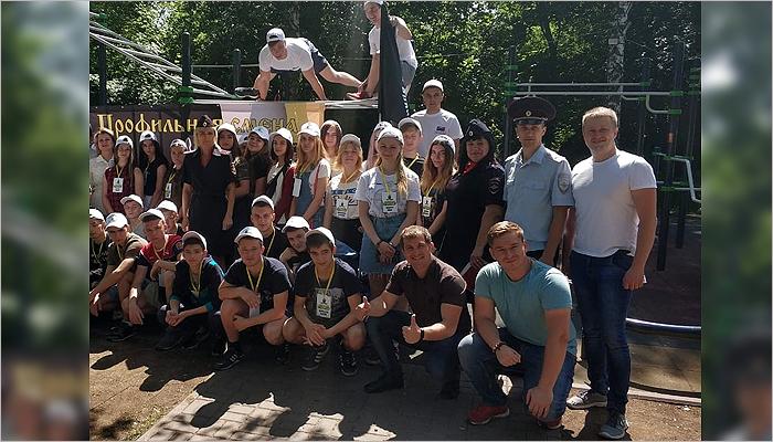 Лагерь «Знамя Пересвета» дал отдых и трудовую практику 180 брянским трудным подросткам