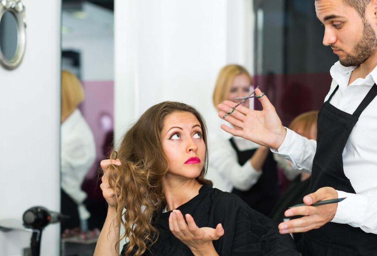 Как видит парикмахер Ваши пожелания?