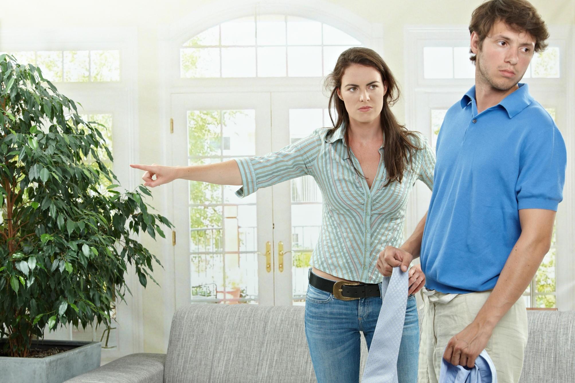 Что не нужно делать при ссоре с мужем