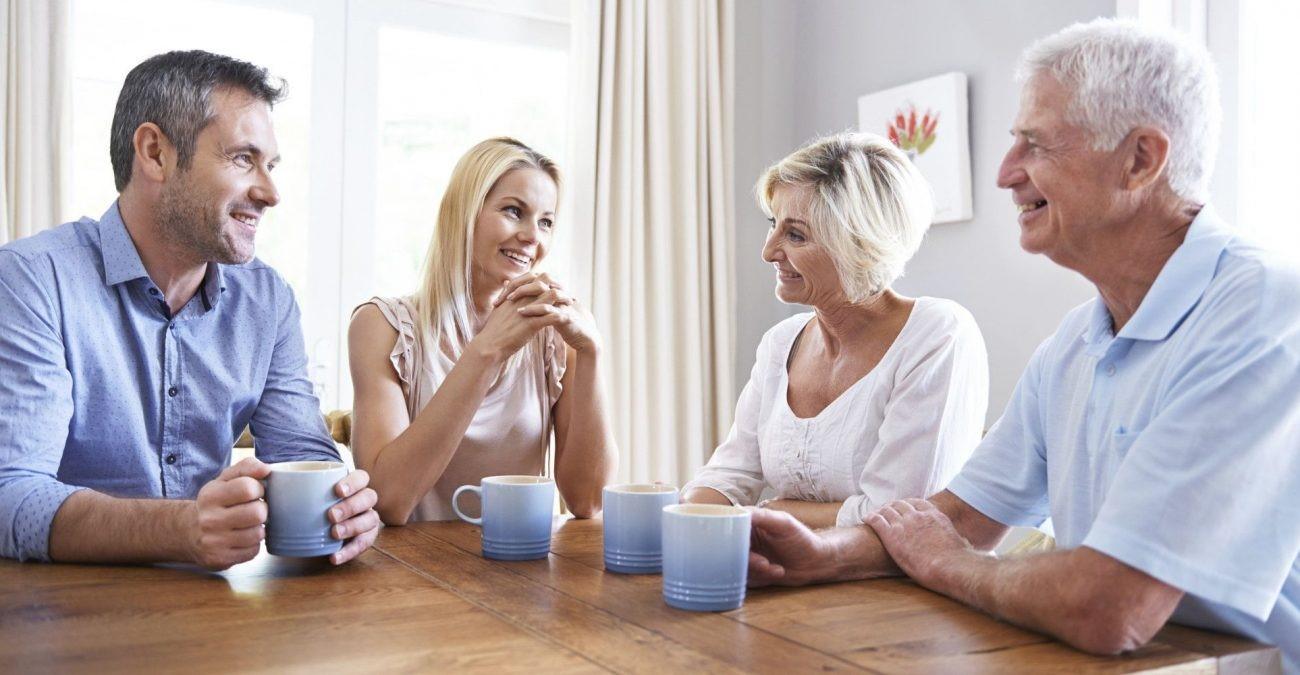 Как правильно общаться с родителями мужа