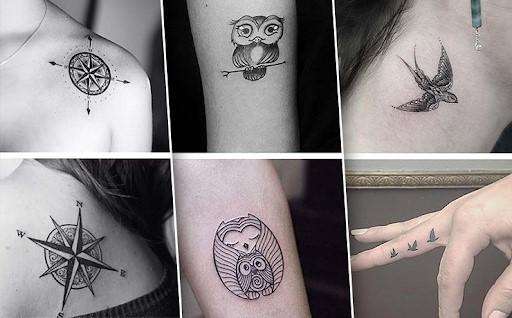 Татуировки на теле девушки: какое значение несет в себе небольшой рисунок