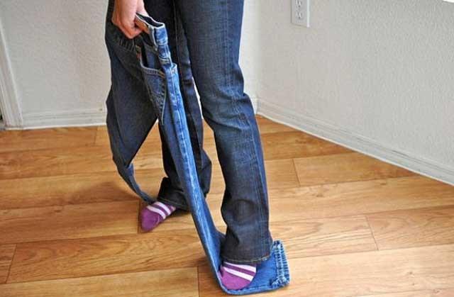 Как в домашних условиях растянуть джинсы