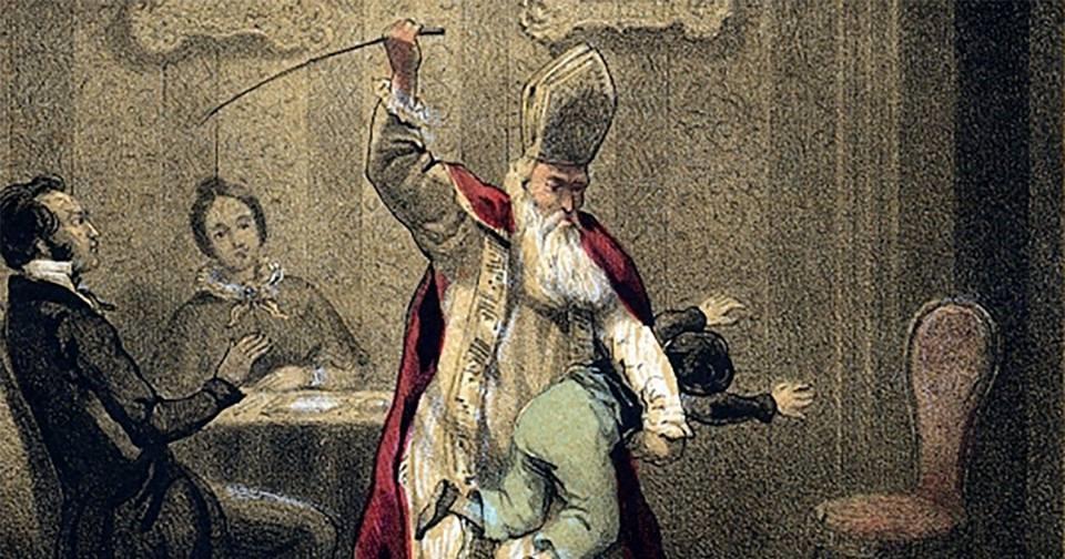 Способы наказания детей, которые использовали более века назад